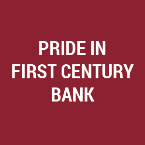 Pride in First Century Bank