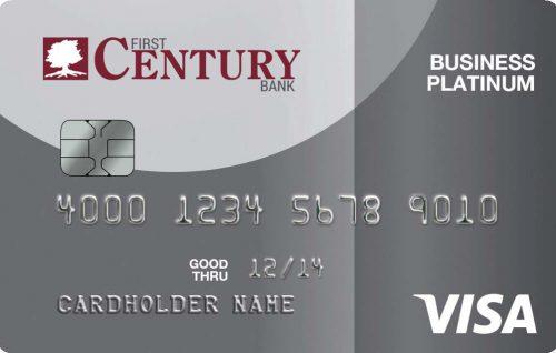 Visa Platinum Business Credit Card