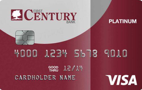 Visa Platinum Personal Credit Card